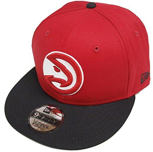 New Era NBA Atlanta Hawks Snapback Team Logo Cap 9fifty 950 Basecap S/M S M by New Era