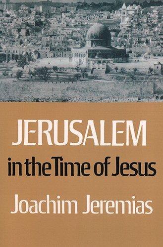 Download Jerusalem in the Time of Jesus ebook