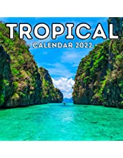 Tropical Calendar 2022: 16-Month Calendar, Cute Gift Idea For Tropics And Summer Lovers Men And Women