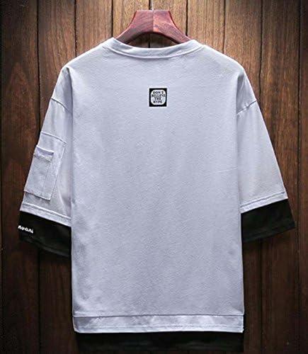 メンズ tシャツ 七分袖 ゆったり 春服 トップス シンプル カットソー ファッション 大きいサイズ