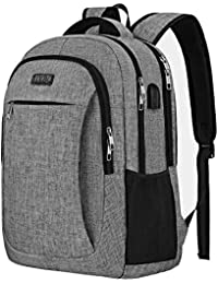 8796591bb02 4348432891 TraveI Laptop Backpack, Anti Theft Laptop Bag with USB Charging  Port and Headphone lnterface