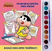 Turma da Mônica - Prancheta Especial Para Pintar: Magali