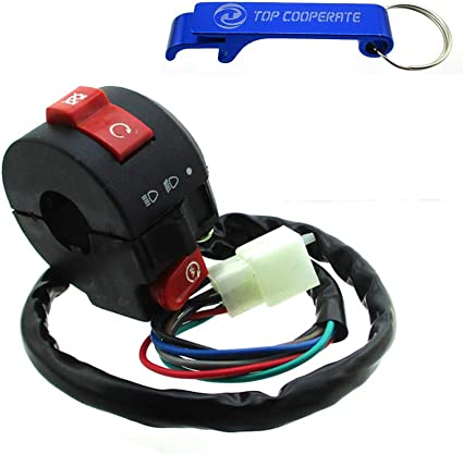 ATV Kill Light Starter Switch 50cc 70cc 90cc 110cc 125cc Taotao Roketa Sunl Quad