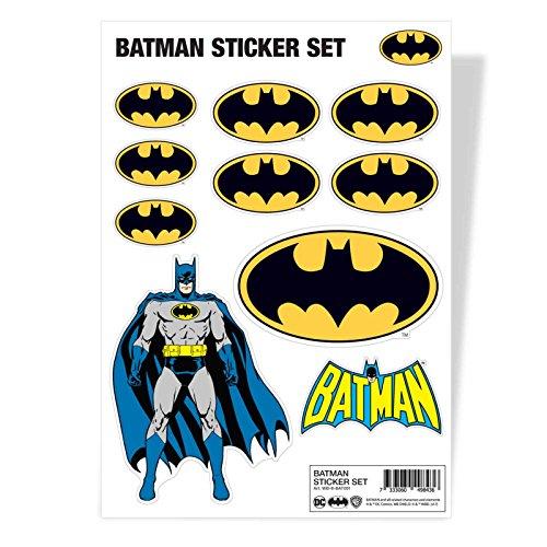 (Batman Sticker Sheet Classic Logo Official Dc Comics A4)