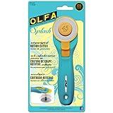 Olfa Splash Rotary Cutter Aqua 45mm, Aqua
