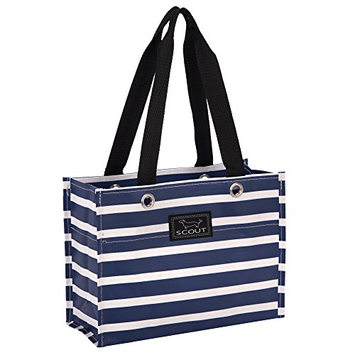 - SCOUT Tiny Package Reuseable Gift Bag for Bridal and Birthday Presents, Water Resistant, Nantucket Navy