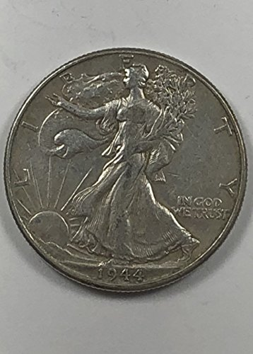 1944 P Walking Liberty 50c Half Dollar Extremely Fine (Walking Liberty Gold Coin)
