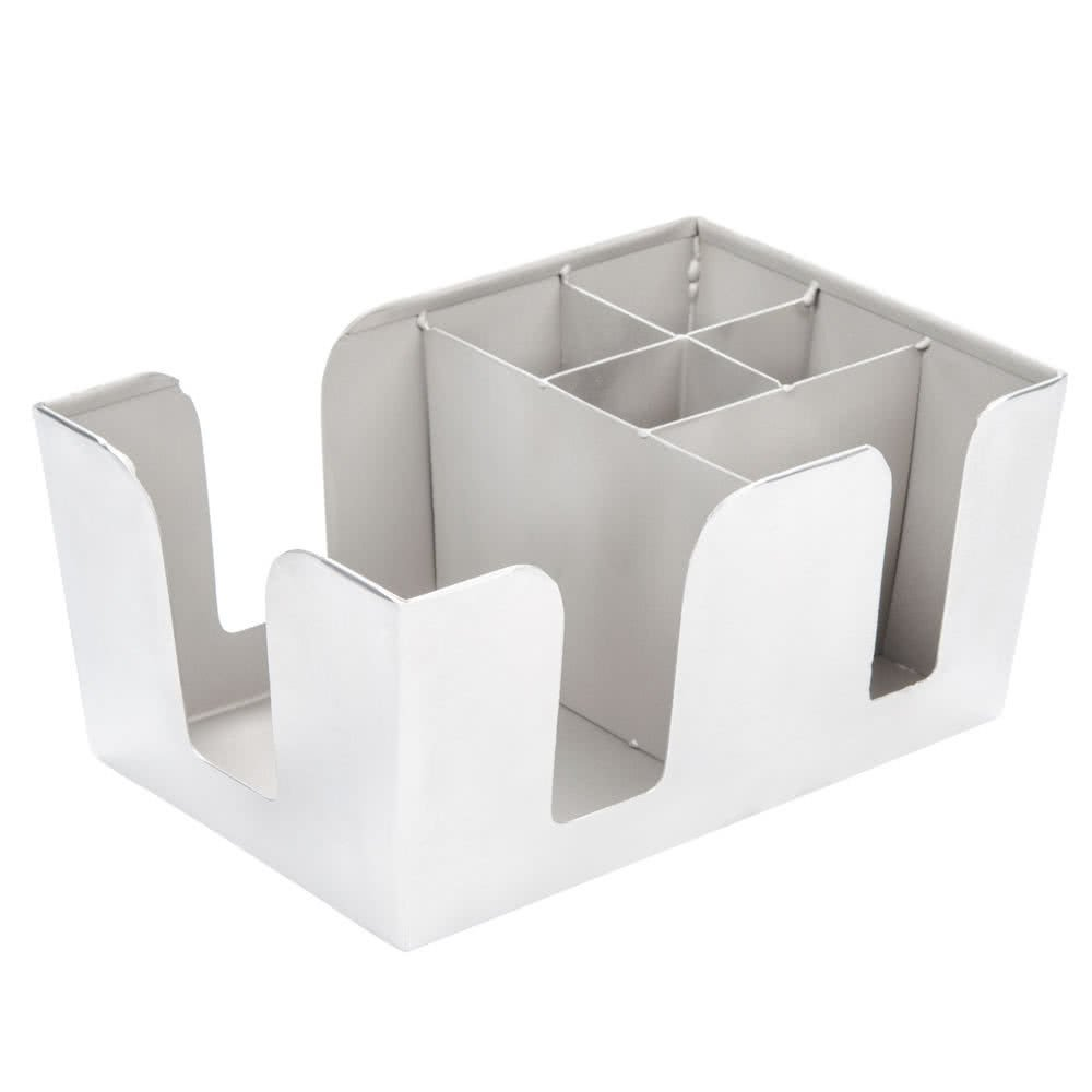 TableTop King BARS7 Stainless Steel Satin Finish Bar/Coffee Caddy