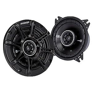 """Kicker 41DSC44 4"""" 2-Way Speaker Pair"""