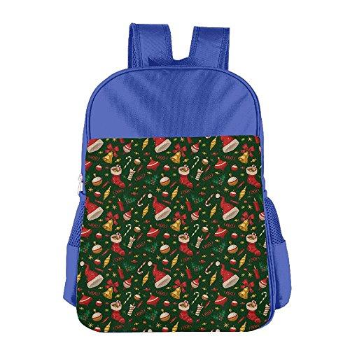 Christmas Santa Claus Kid's School Shoulder Backpack Bag Waterproof Children - Yoshi Sunglasses