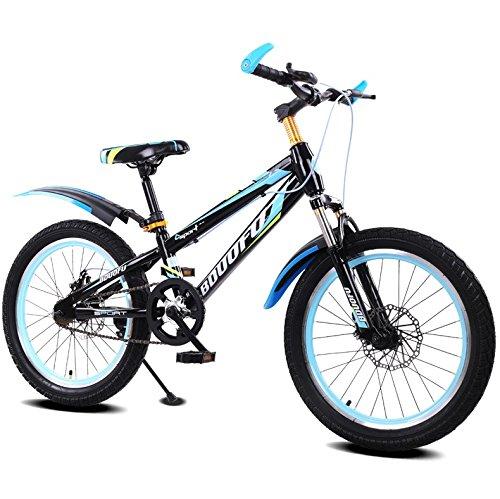 子供用自転車MTB男性、女性、子供1618インチ4-12歳の学生自転車 (色 : A, サイズ さいず : 18 inches) B07D5VS9ZD 18 inches|A A 18 inches