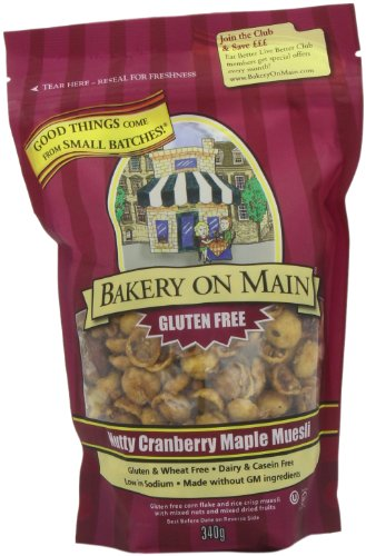 Bakery On Main Nutty Cranberry Maple Gluten Free Granola, 11 Ounce
