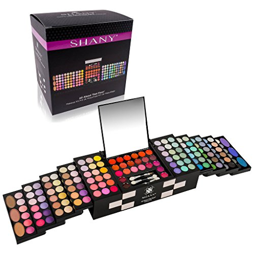 SHANY 'All About That Face' Makeup Kit – All in one Makeup  Kit – Eye Shadows, Lip Colors & More