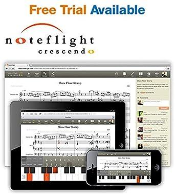 Amazon.com: Noteflight Crescendo Music Notation Software ...