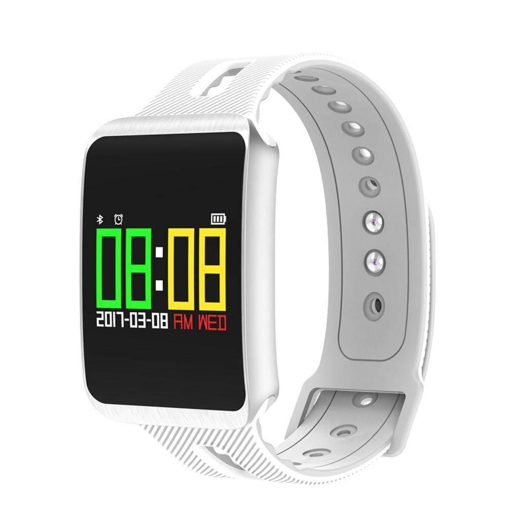 Ambiguity Fitness-Armband,Trainingsinformationen Schrittzähler rufen Anzeige Blautooth zehn Meter wasserdicht großen Farb-smart-Armband