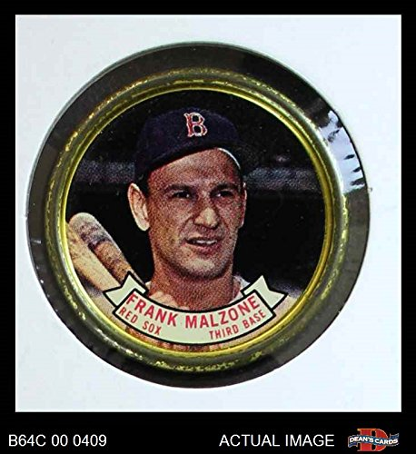 Boston Red Sox Coin Set - 1964 Topps Coins # 7 Frank Malzone Boston Red Sox (Baseball Card) Dean's Cards 3 - VG Red Sox