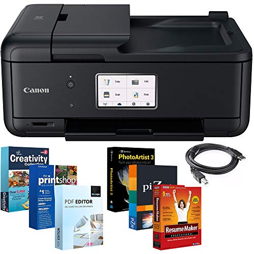 Canon PIXMA Wireless All-in-One Printer TR8520 with Printer Essentials Bundle and More by Beach Camera (Image #9)