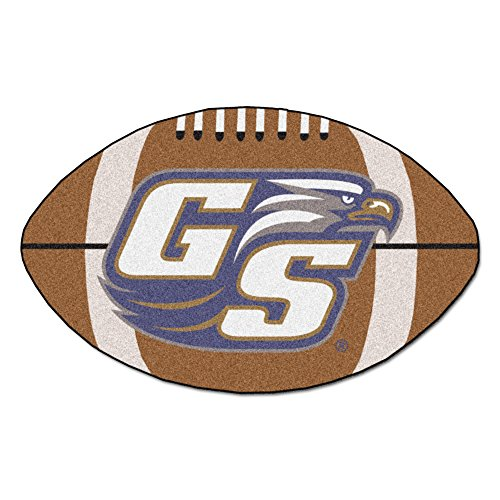 NCAA Georgia Southern University Eagles Football Shaped Mat Area Rug