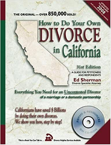How to do your own divorce in california everything you need for an how to do your own divorce in california everything you need for an uncontested divorce of a marriage or a domestic partnership 31st edition solutioingenieria Images