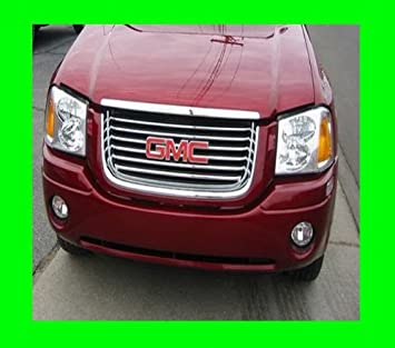 APS Compatible with 2001-2009 GMC Envoy Billet Grille Combo G67888A