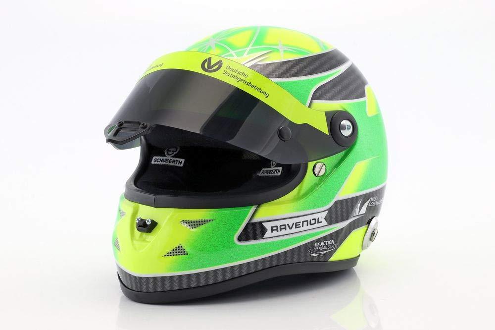 Mini Helmet Coche de ferrocarril de Collection, 9088000225, Amarillo/Verde
