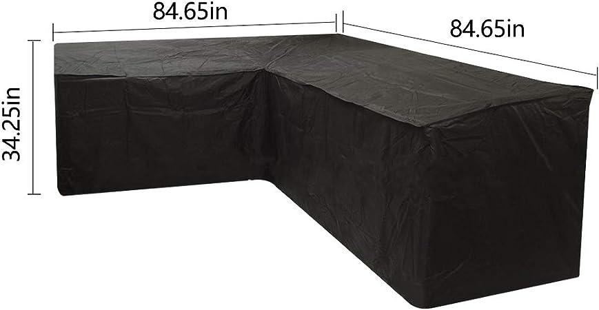 155x220 cm mit /Ösen 1 St/ück Wasserdicht und Wetterfest Aschgrau Generic Huva Studio Outdoor Verdunkelungsvorhang Sonnenschutz Undurchsichtiger Au/ßenvorhang Sichtschutz