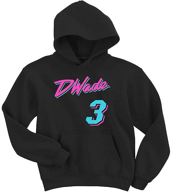 new concept 8e709 59269 The Tune Guys Black Miami Wade Vice City Hooded Sweatshirt