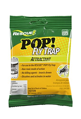 (RESCUE Outdoor Non-Toxic POP! Fly Trap Attractant)
