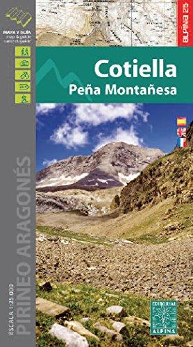 Descargar Libro Cotiella, Peña Montañesa , Mapa Excursionista. Escala 1:25.000. Alpina Editorial. Vv.aa.
