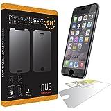 iPhone 5s/5c/5/6/6 plus Nue Designs TM Premium Tempered Glass Screen Protector for iPhone 5s, iPhone 5, iPhone 5c, iPhone 6, iPhone 6 Plus (IPHONE 6 / 4.7)