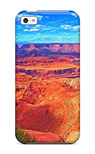 Sanp On Case Cover Protector For Iphone 5c (grand Canyon)