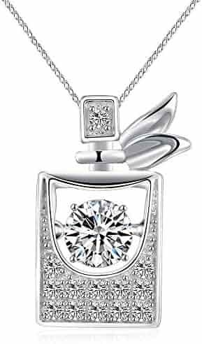"Sable ""Scent of Paris"" Pendant Necklace, Best Idea Gifts for Girls & Women"