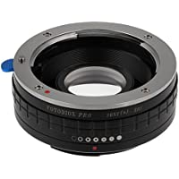 Fotodiox Pro Lens Mount Adapter - Sony Alpha A-Mount (and Minolta AF) DSLR Lens to Canon EOS (EF, EF-S) Mount SLR Camera Body, with Built-In Aperture Control Dial and Focus Confirmation Chip