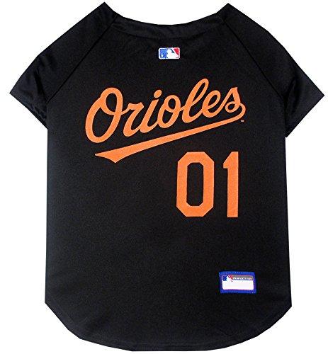 MLB Baltimore Orioles Dog Jersey, X-Large. - Pro Team Color Baseball ()