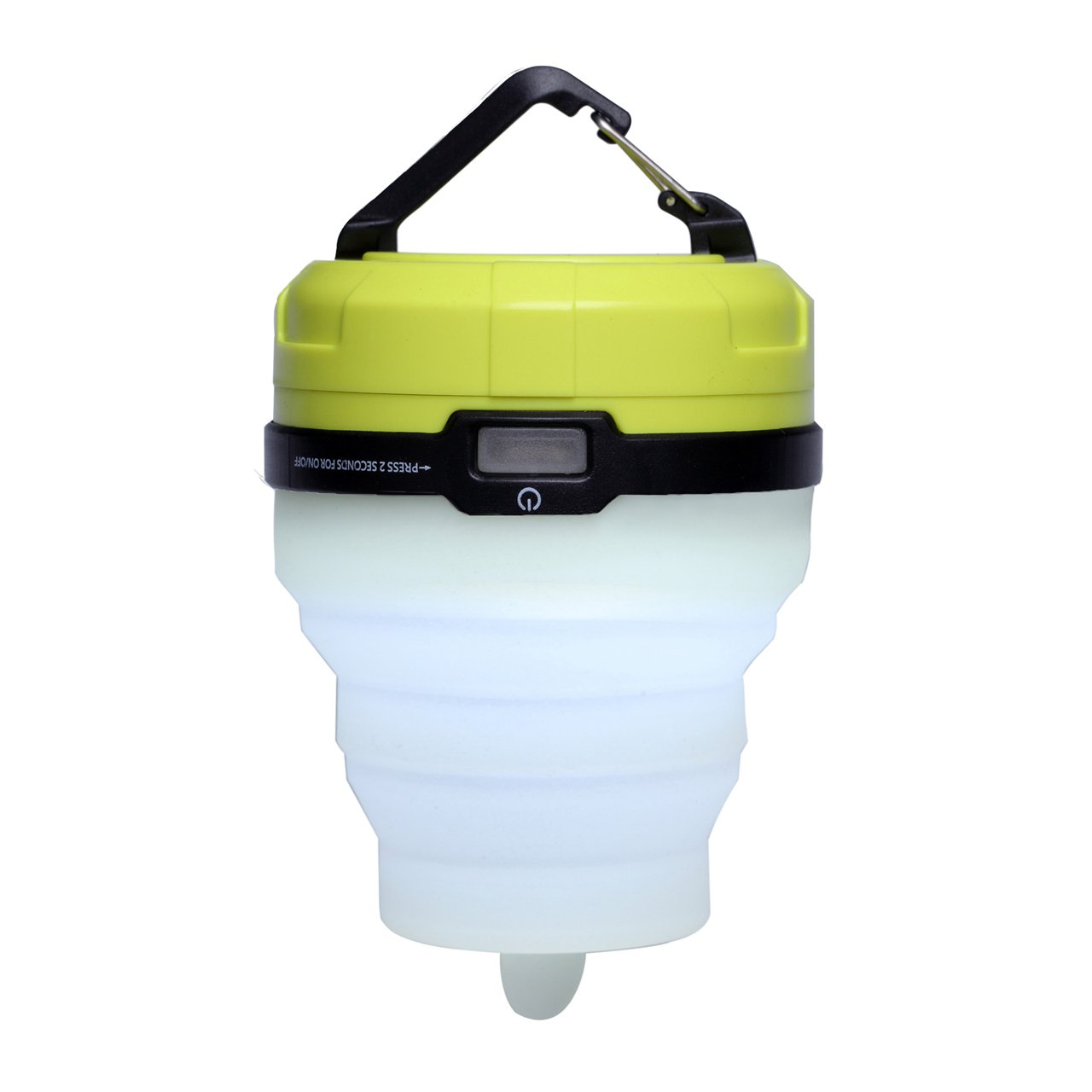 BRAiTOR Super Bright Collapsible LED Camping Lantern - Candle and Colorful Tent Light with 3 AAA Batteries