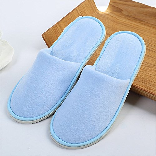 Hotel / Spa Slippers, Gesloten Teen Non-slip Disposable Party-guest Schoenen D