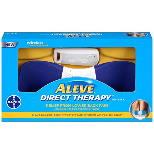 Aleve Direct Therapy - TENS Device - Buy Packs and SAVE (Pack of 2) by Aleve