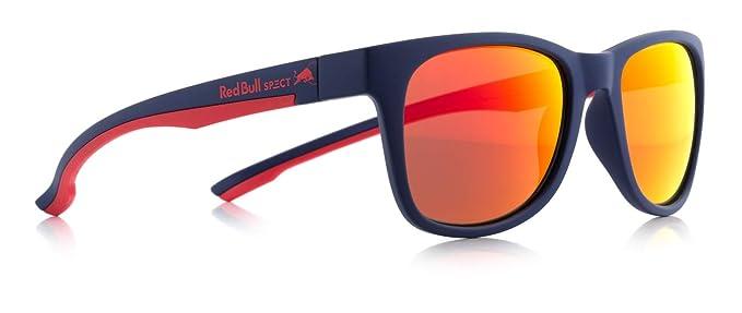 Red Bull SPECT Gafas De Sol Polarizadas Indy Matt Dark Azul-Rojo-Smoke Rojo