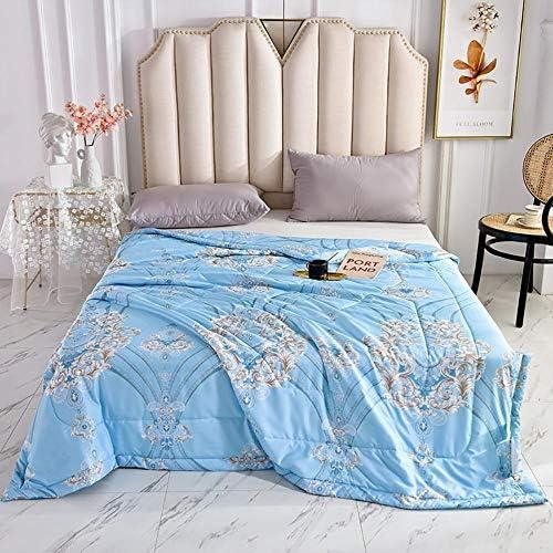 WOAINI Quilts d'été, Kuscheldecke Baby Tagesdecke, Decke Queen Size Quilt Bedding Ultra Soft Microfiber Bed Quilts Quilted Coverlet 200x230cm J
