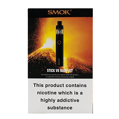 Kit Stick V8 de SMOK Pen Style Cloud Beast avec Clearomiseur TFV8 Big Baby Rainbow sans nicotine ni Tabac: Amazon.es: Salud y cuidado personal