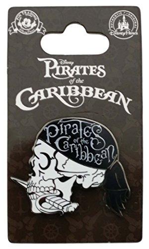 - Disney Pin - Pirates of the Caribbean - Skull Profile