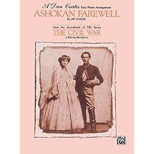 """Ashokan Farewell (from """"The Civil War"""") Sheet Piano By Jay Ungar / arr. Dan Coates"""