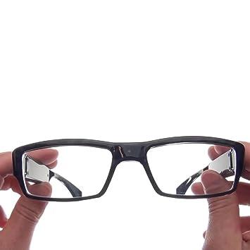 25b751676410c Câmera espiã 32GB escondida em óculos para filmar discretamente ...