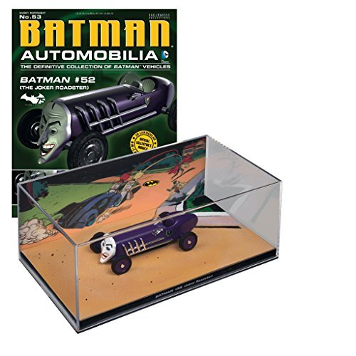 DC BATMAN AUTOMOBILIA FIGURINE COLLECTION MAGAZINE #53 BATMAN #52 JOKER ROADSTER
