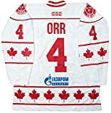 Bobby Orr Team Canada 40th Anniversary 1972 Summit Series White Hockey Jersey (58 (4X))
