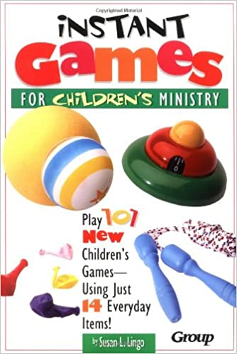 Book Instant Games for Children's Ministry
