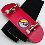 Peoples Republic P-Rep Pink 34mm Complete Wooden Fingerboard w CNC Lathed Bearing Wheels …
