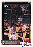 first jordans ever made - 1992 Topps #141 Michael Jordan Topps Rookie Card Mint! Shipped in Ultra Pro Top Loader to Protect it! First Ever Topps Basketball Card made of Michael Jordan! Awesome Rookie of Bulls Legendary HOFer