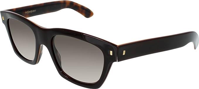 e57d03cd1 Image Unavailable. Image not available for. Colour: Yves Saint Laurent  Women's YSL2310S-YXREJ-52 Tortoiseshell Square Sunglasses