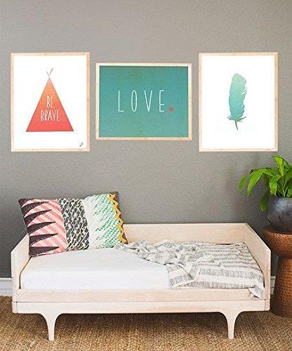 Be Brave Collection , Nursery Decor, Kid's Room Decor,